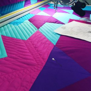 quilting the quilt