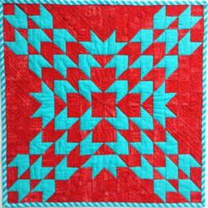 Dreamer's Star Mini Quilt