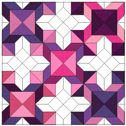 purple/pink colorway