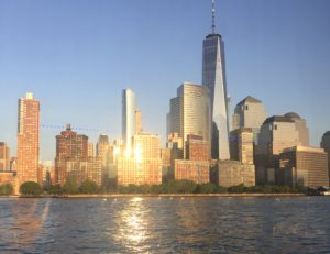 NYC at sunset