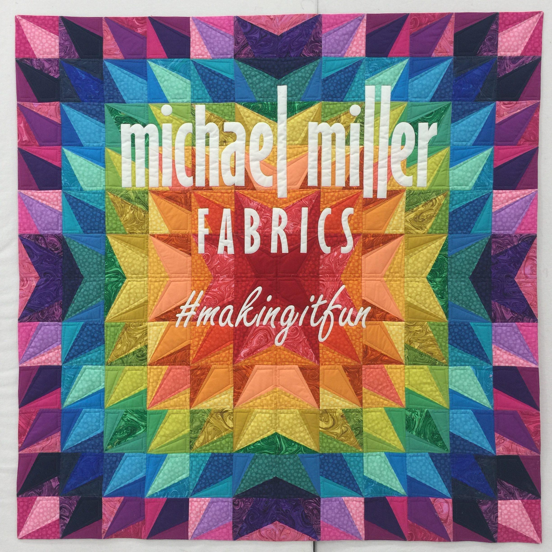 Spring Quilt Market Quilt for Michael Miller