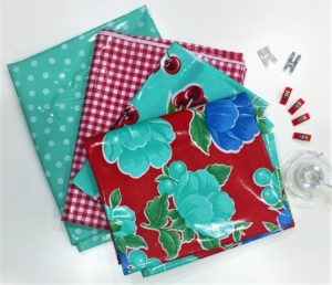 Some of my favorite oilcloth prints