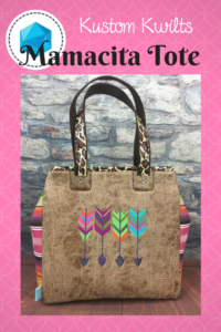 Mamacita Tote with Serape