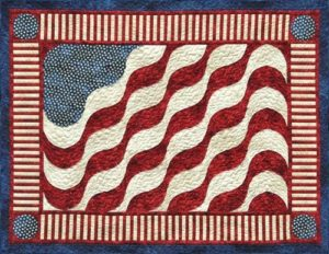 American Wave Quilt Pattern