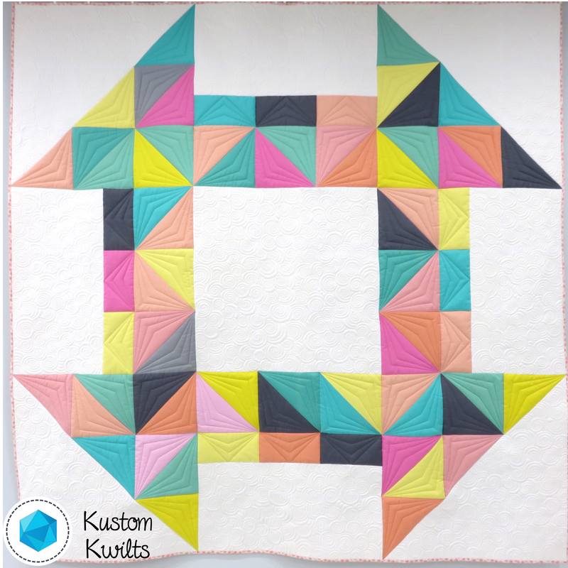 Cheeky Churn Dash Quilt Pattern