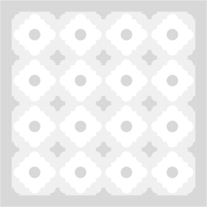 Moroccan Tiles Coloring Sheet