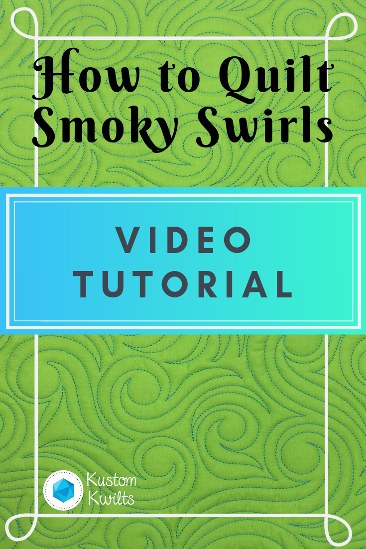 smoky swirls video tutorial